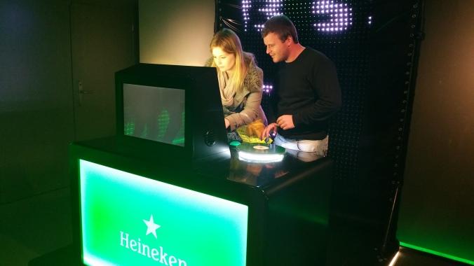 11 Viajando em 3... 2... 1... - Heineken Experience