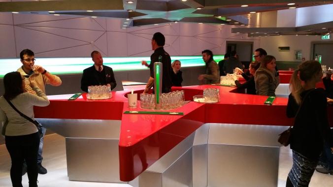 8 Viajando em 3... 2... 1... - Heineken Experience